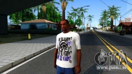 Nike Air Jordan S.O.M. Do You Know T-Shirt White pour GTA San Andreas