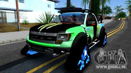 Ford F-150 SVT RaptorTRAX 2012 Ken Block pour GTA San Andreas