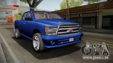 GTA 5 Bravado Bison pour GTA San Andreas