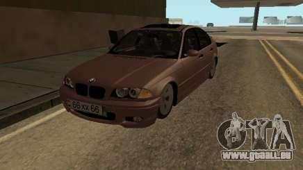 BMW 320i Armenian pour GTA San Andreas