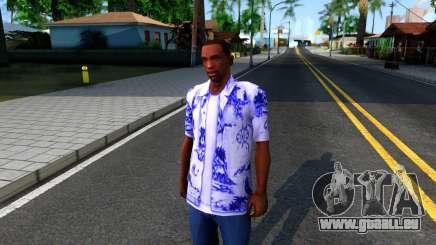 New Hawaii Shirt pour GTA San Andreas