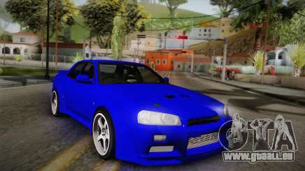 Nissan Skyline ER34 Rocket Bunny pour GTA San Andreas