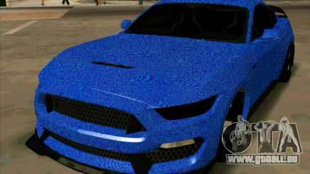 Ford Mustang BLUE STYLE für GTA San Andreas