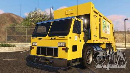 Portugal, Madeira Garbage Truck CMF Skin pour GTA 5