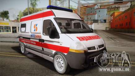 Renault Master Krankenwagen für GTA San Andreas