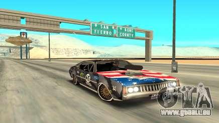 Ken Block Clover 2 für GTA San Andreas