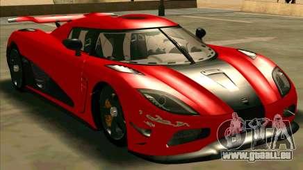 Koenigsegg Agera R NFS für GTA San Andreas