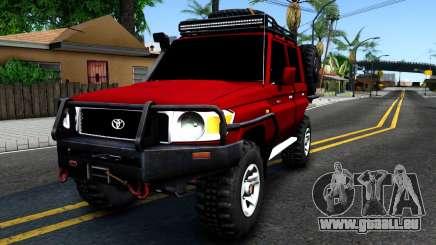 Toyota Land Cruiser 70 Off-Road V2.0 für GTA San Andreas