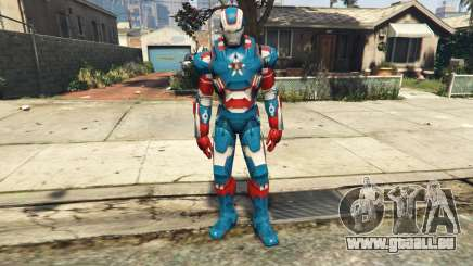 Iron Man Patriot für GTA 5