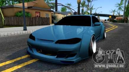 Nissan Silvia S15 326 Rocket Bunny für GTA San Andreas