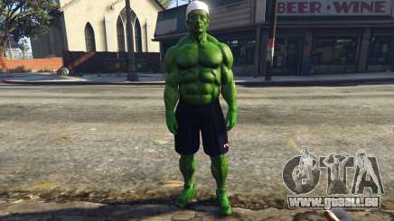 The Hulk with eyes pour GTA 5