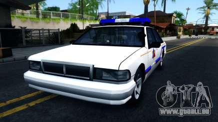Declasse Premier Hometown Police Department 2000 pour GTA San Andreas