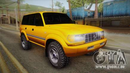 Toyota Land Cruiser 80 Series pour GTA San Andreas