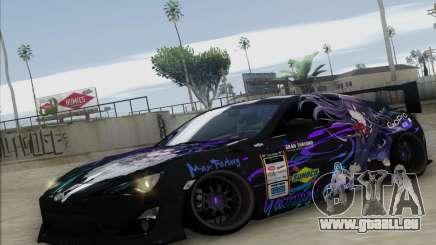 Toyota GT86 Yatogami Tohka Itasha für GTA San Andreas