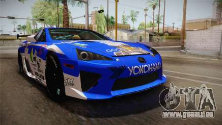 Lexus LFA Rem The Blue of ReZero pour GTA San Andreas