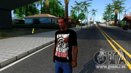 Nike Air Jordan S.O.M. Do You Know T-Shirt Black pour GTA San Andreas