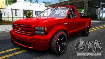 GTA V Vapid Sadler Racing pour GTA San Andreas
