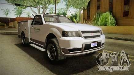 GTA 5 Vapid Utility Van IVF für GTA San Andreas