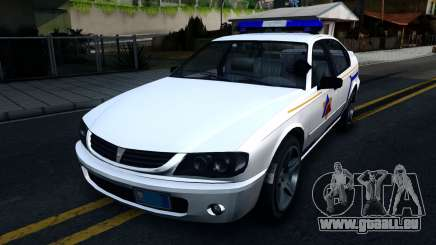 Declasse Merit Hometown Police Department 2004 pour GTA San Andreas