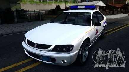 Declasse Merit Hometown Police Department 2004 für GTA San Andreas
