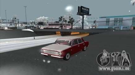 VAZ 2101 snow version für GTA San Andreas