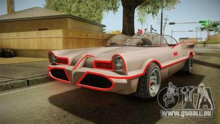GTA 5 Vapid Peyote Batmobile 66 IVF pour GTA San Andreas