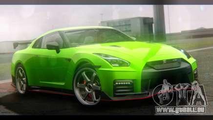 Nissan GT-R Nismo 2017 pour GTA San Andreas