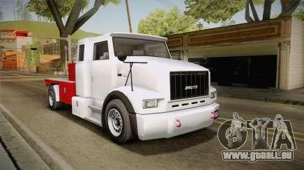 GTA 5 Brute Utility Truck IVF pour GTA San Andreas