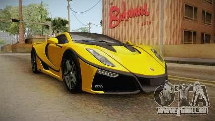 Spania GTA Spano 2016 pour GTA San Andreas