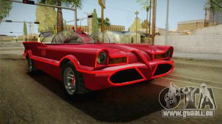 GTA 5 Vapid Peyote Batmobile 66 für GTA San Andreas