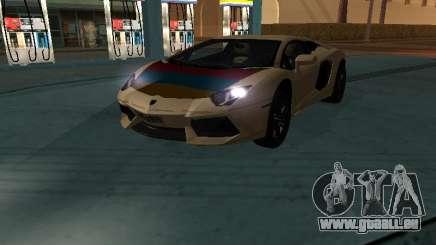 Lamborghini Aventador LP700-4 Armenian pour GTA San Andreas
