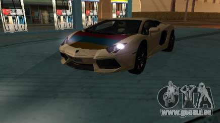 Lamborghini Aventador LP700-4 Armenian für GTA San Andreas