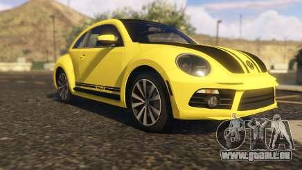 Limited Edition VW Beetle GSR 2012 pour GTA 5