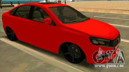 Lada Vesta BPAN pour GTA San Andreas