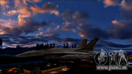 Clouds Realistic Of Day And Night v4 für GTA San Andreas