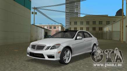 Mercedes-Benz E63 AMG TT Black Revel pour GTA Vice City