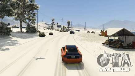 Christmas in Singleplayer (Snow Mod) 1.01 pour GTA 5