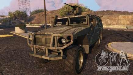 GAZ Tiger pour GTA 5