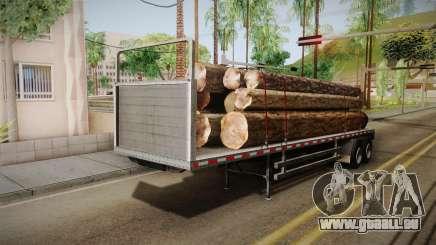 GTA 5 Log Trailer v3 IVF pour GTA San Andreas