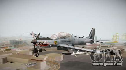 Embraer-314 Super Tucano für GTA San Andreas