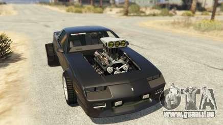 IROC-Z Big V8 Drag Car pour GTA 5