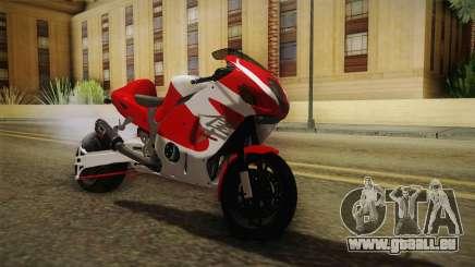 GTA 5 Hyabusa Drag v1 für GTA San Andreas