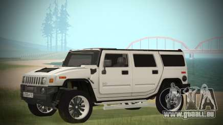 Hummer H2 Loud Sound pour GTA San Andreas