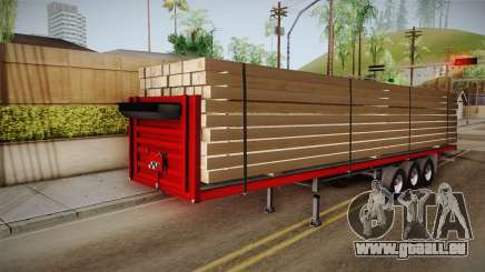 Flatbed Trailer Red für GTA San Andreas