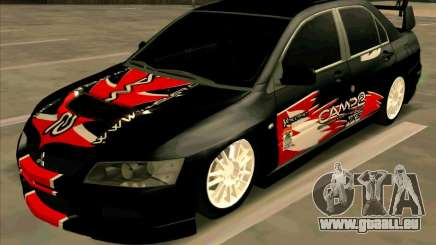 Mitsubishi Lancer Evolution VIII für GTA San Andreas