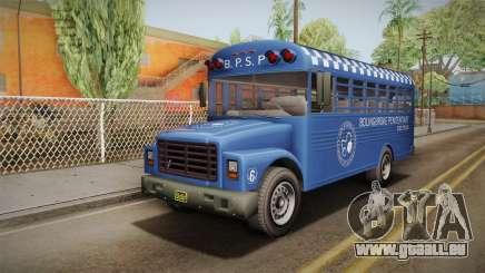 GTA 5 Vapid Police Prison Bus IVF für GTA San Andreas