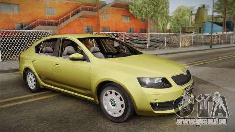 Skoda Octavia Mk3 pour GTA San Andreas