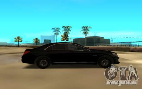 Mercedes-Benz S-Class für GTA San Andreas linke Ansicht