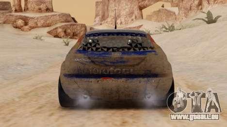 Ford Focus Touring Car für GTA San Andreas rechten Ansicht