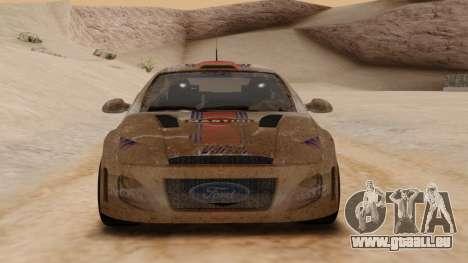 Ford Focus Touring Car für GTA San Andreas linke Ansicht